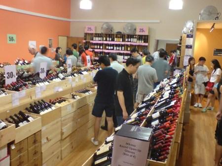 Crystal Wines Megasale 2009