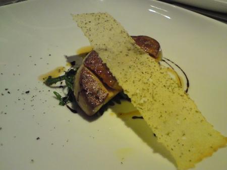 A perfect foie gras