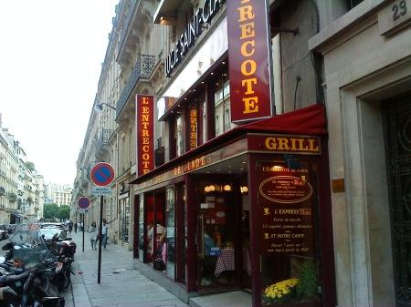 L'Entrecote Paris