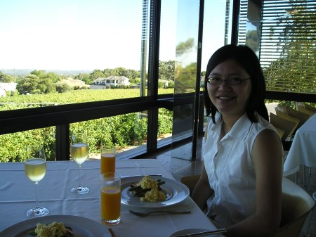 Breakfast at Magill Estate 19 Feb 2004