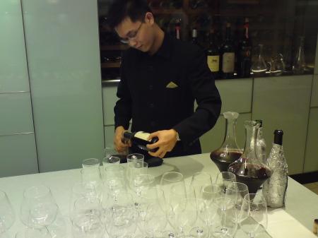 Great wines deserve impeccable service