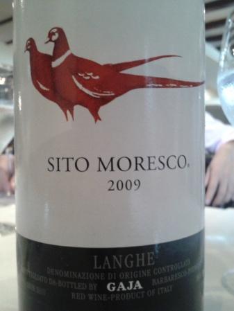 2009 Gaja Langhe Sito Moresco