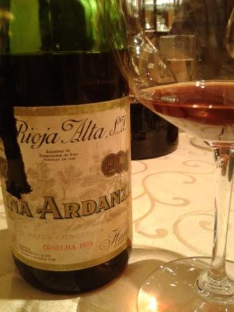 An unusual Rioja