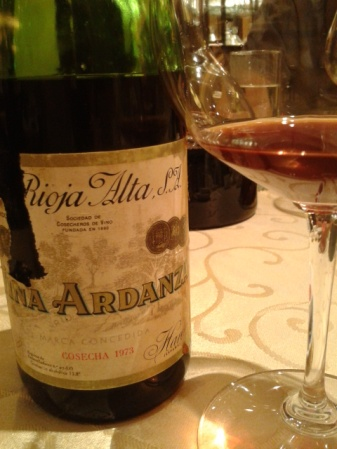 An unusual Rioja