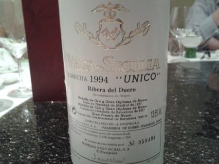 1994 Vega Sicilia Unico