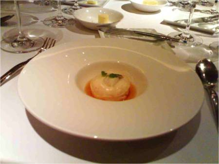 Prawn paste, Shiso & Dashi