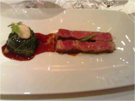 Wagyu on Kong Bak sauce