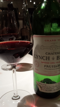 Lovely 1983 Lynch-Bages
