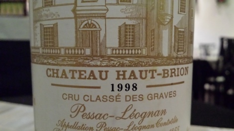 1998 Haut-Brion