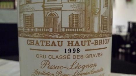 1998 Haut-Brion