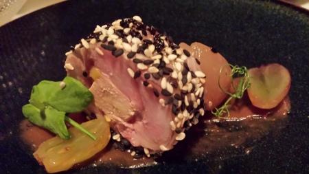 Delectable foie gras terrine