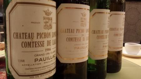 Pichon Lalande 1983-2001