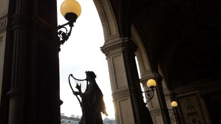 From the Wiener Staatsoper balcony