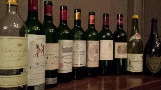1990 Pauillac lineup